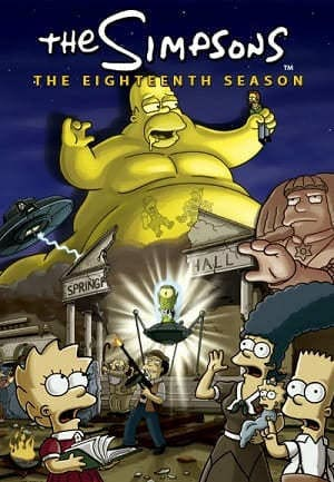 Os Simpsons - 18ª Temporada Desenhos Torrent Download capa