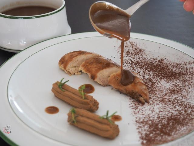 Perdiz al chocolate - Per sucar-hi pa