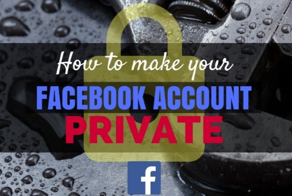 How to be private on facebook