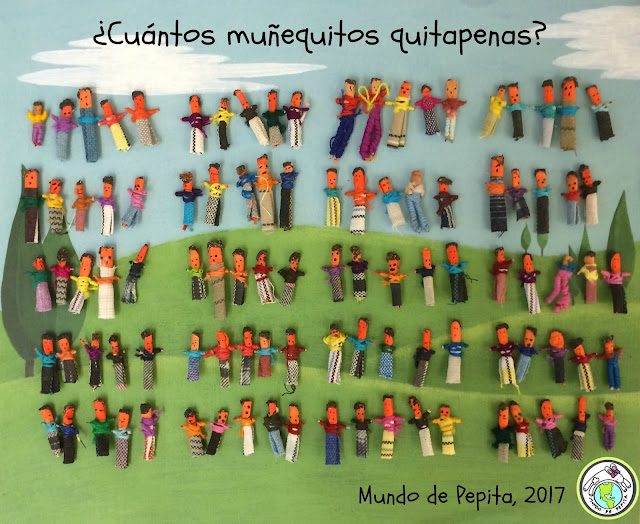 100 Worry Dolls to Count for 100th Day of School