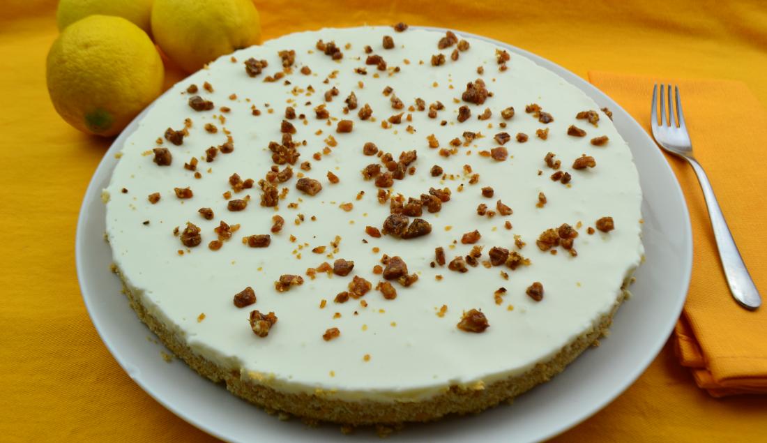 LA GAIA CUCINA DI PATTY...: Cheesecake allo yogurt, con granella ...