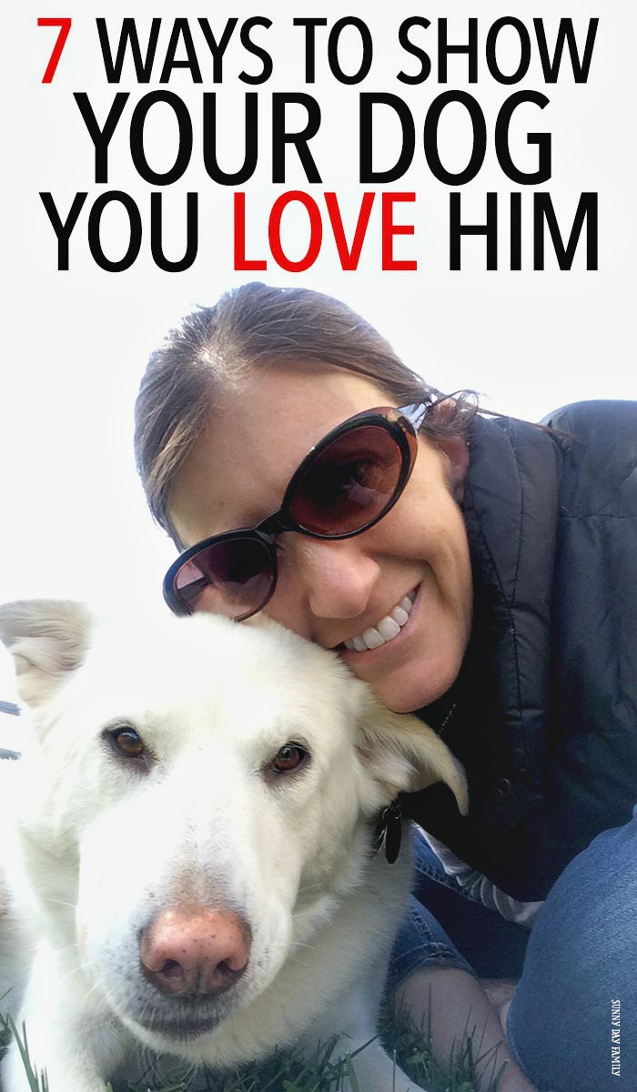 Your dog is your best friend - show him you love him too every day no matter how busy you are with these easy ideas! Fun ways to bond with your dog even when life gets crazy.