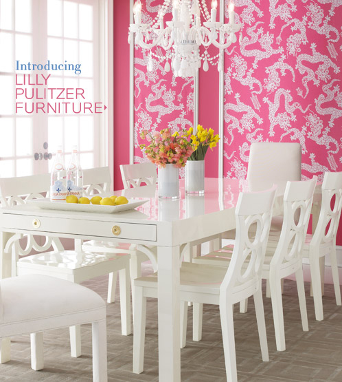 The Pink Pagoda Dining In The Pink With Carleton Varney And Lilly Pulitzer