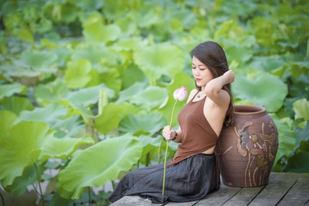 Ao Yem Vietnam Premade Pink And Black Fabric