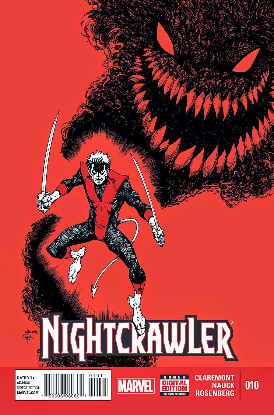 The Shadow King shadows Nightcrawler