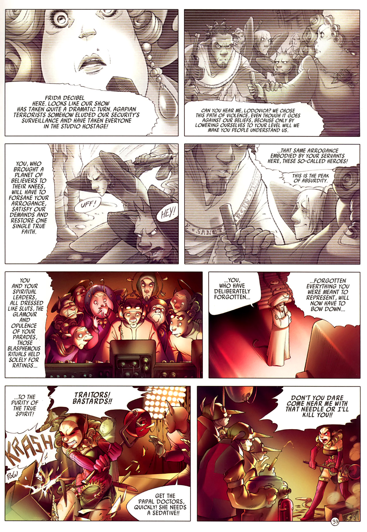 Read online Sky Doll comic -  Issue #3 - 37