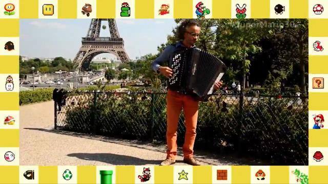 Super Mario Bros. 30th Anniversary musician xylophone