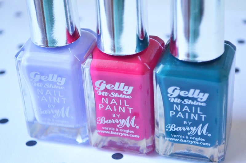 Barry M Gelly Hi-Shine Nail Paints
