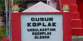 Sleman Yogyakarta: Dusun Koplak