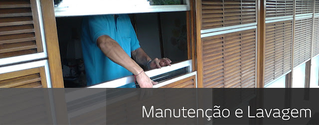 Lavagem de cortinas e persianas