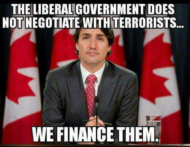 Canada does not negotiate with terrorists