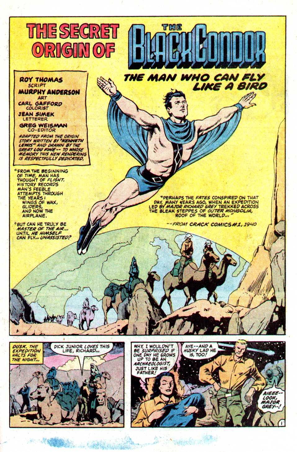 Read online Secret Origins (1986) comic -  Issue #21 - 24