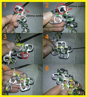 Segunda etapa de como hacer collar