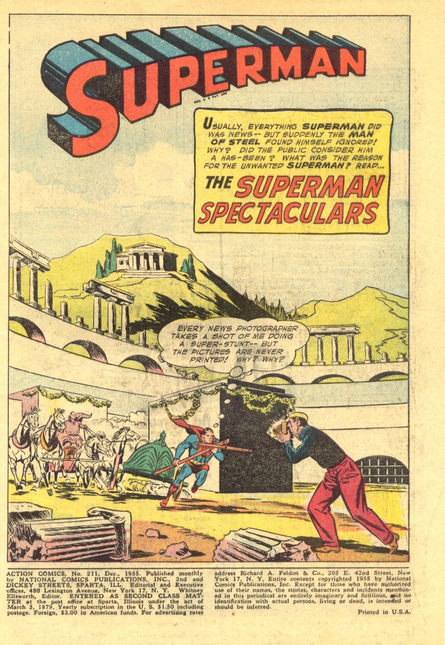 Action Comics (1938) 211 Page 2