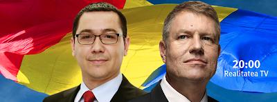államelnök-választások, televíziós vita, Klaus Johannis, Victor Ponta, Románia, politika,