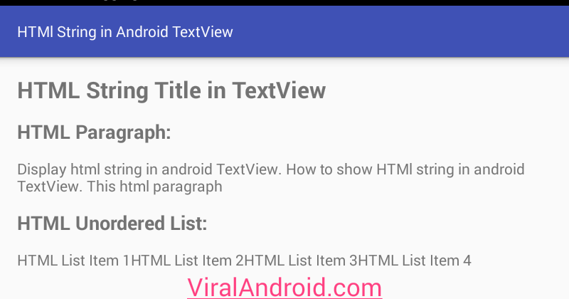 Using Android TextView | Studytonight