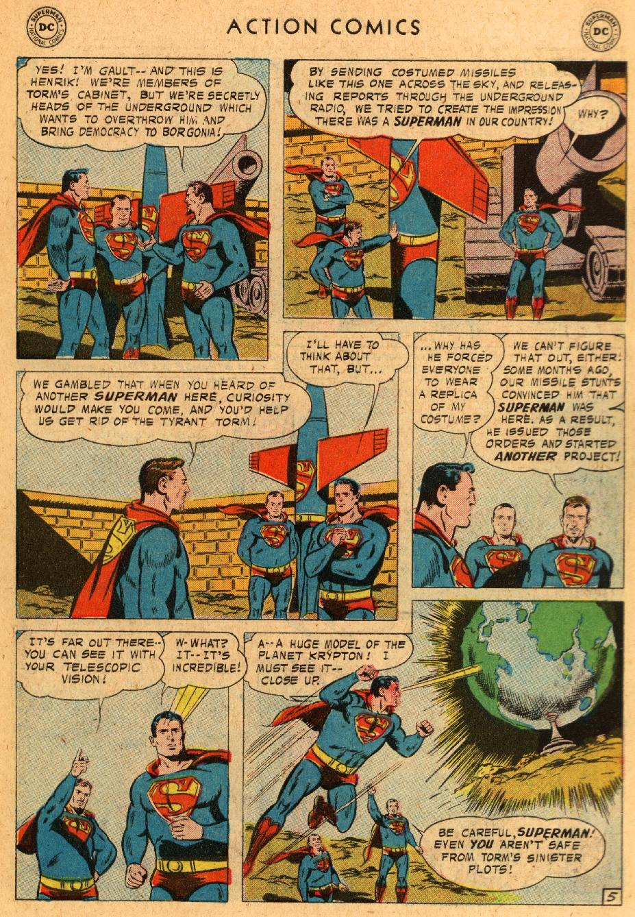 Read online Action Comics (1938) comic -  Issue #233 - 7