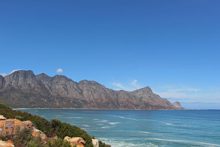 Südafrika, Berge an der Küste