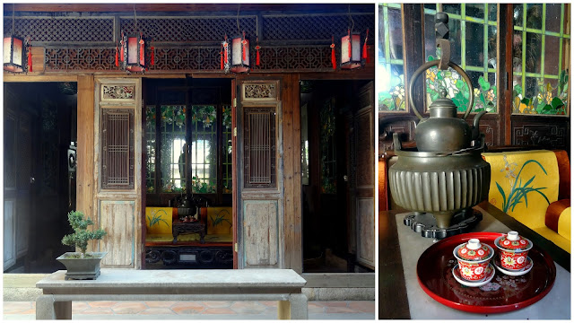 Tea Room Lanqin Guoco Mansion in Xiamen, China