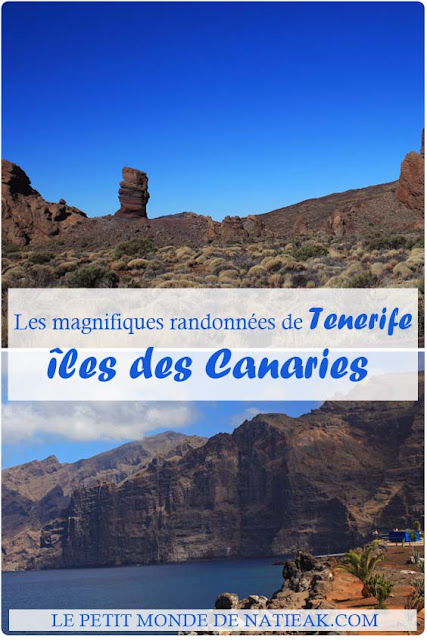 Randonnées sur l'île de Tenerife aux Canaries