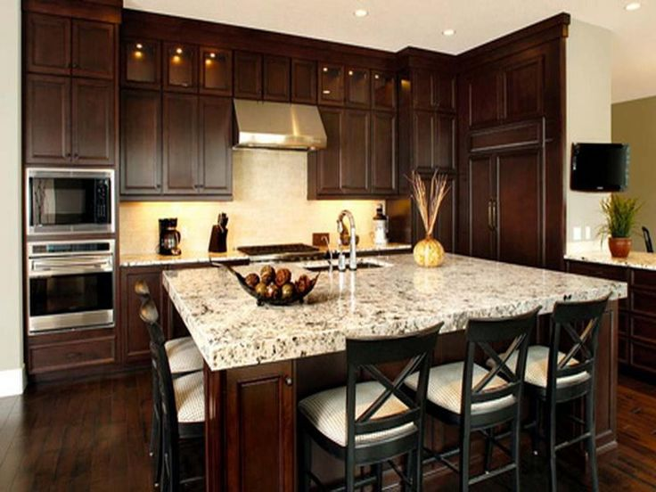 30 Modern Brown Chocolate Painting Kitchen Cabinets ...