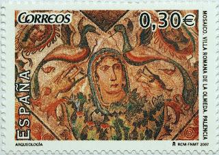 MOSAICO VILLA ROMANA DE LA OLMEDA, PALENCIA