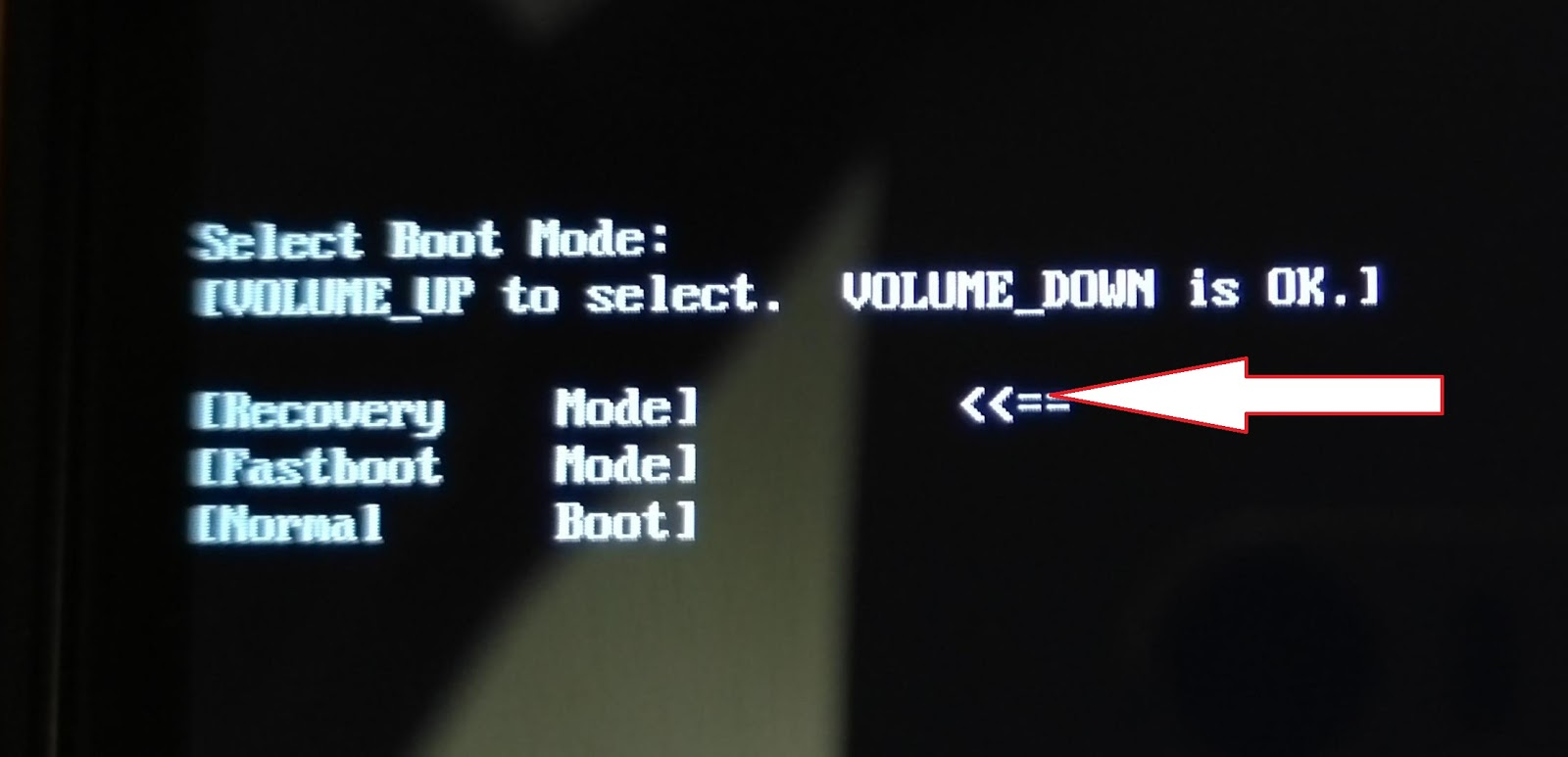 Asus android tablet recovery mode