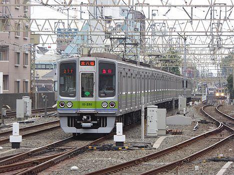 京王電鉄 都営新宿線直通 急行 本八幡行き3 10-000形270F