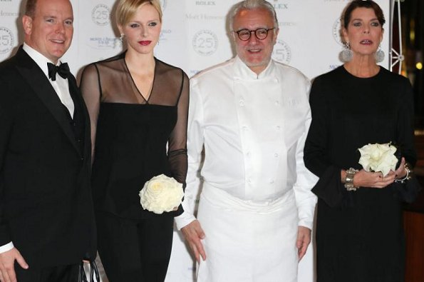 Le Louis XV is the flagship restaurant of chef Alain Ducasse