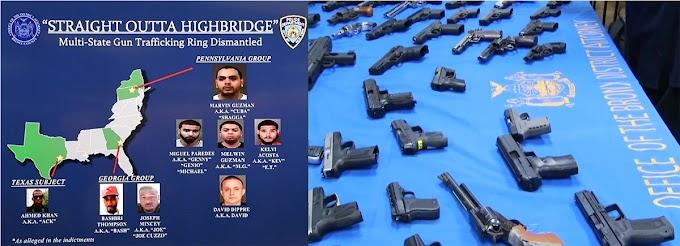 Dominicanos enfrentan hasta 25 años por tráfico de armas en varios estados de Estados Unidos