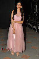 Actress Nidhisha Reddy Pos in Beautiful Pink Dress at Virus Telugu Movie Audio Launch .COM 0047.JPG