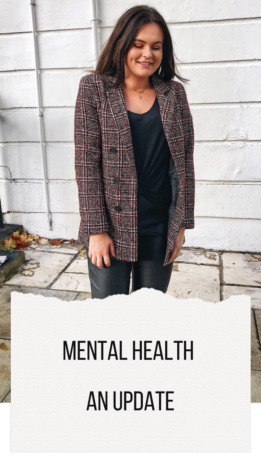 new look tweed blazer, new look on asos, new look blogger, this is new look, autumn dressing, autumn fashion looks, mental health blogger, mental health awareness