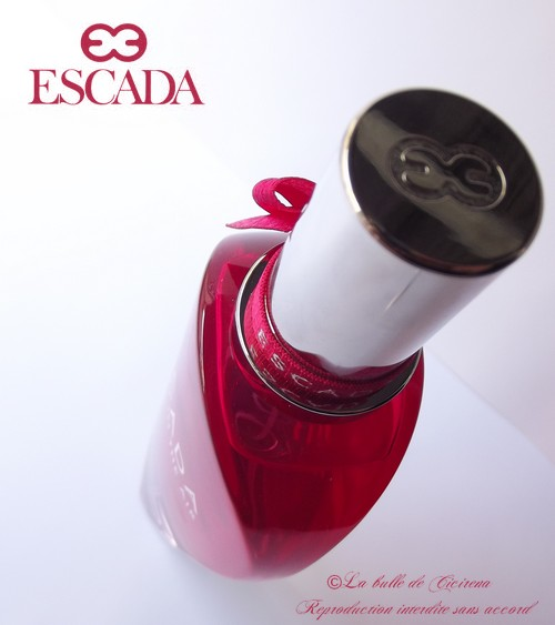 perfume, fragrance, escada