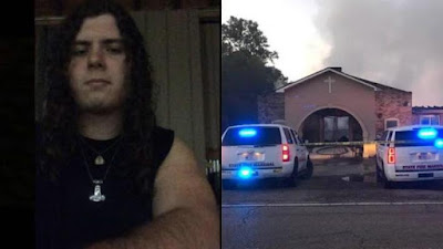 Sospechoso de incendiar iglesias afroamericanas en Luisiana es hijo de policía
