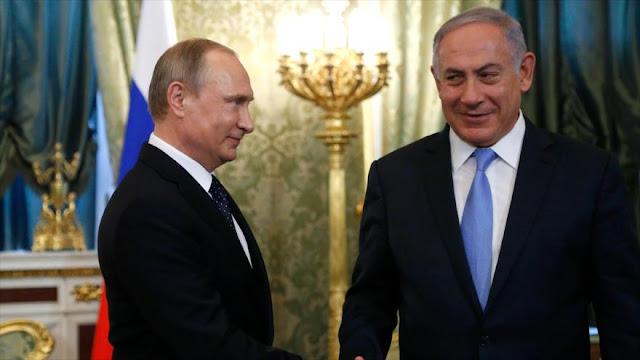 Israel pide ayuda de Rusia ante pasividad de EEUU en Siria