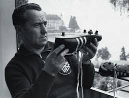 But they fell out and became rivals with Adidas and Puma. Adi Dassler  started crafting shoes in a washroom in 1920 with leftover war scraps. 54003ce83