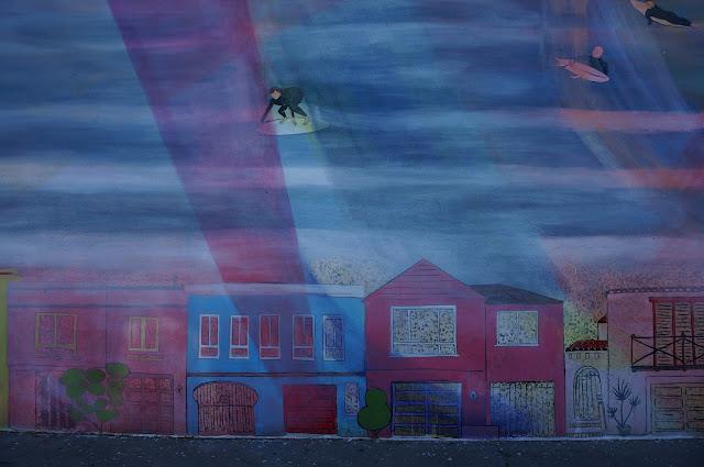 Sunset Mural - San Francisco - greysuede.com