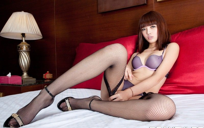 Asian Lingerie Model Serena - New Collection 2012Underwear -7598