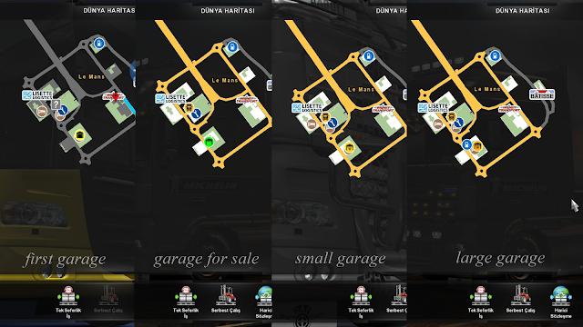 ets 2 google maps navigation night version for promods v1.9 screenshots 4