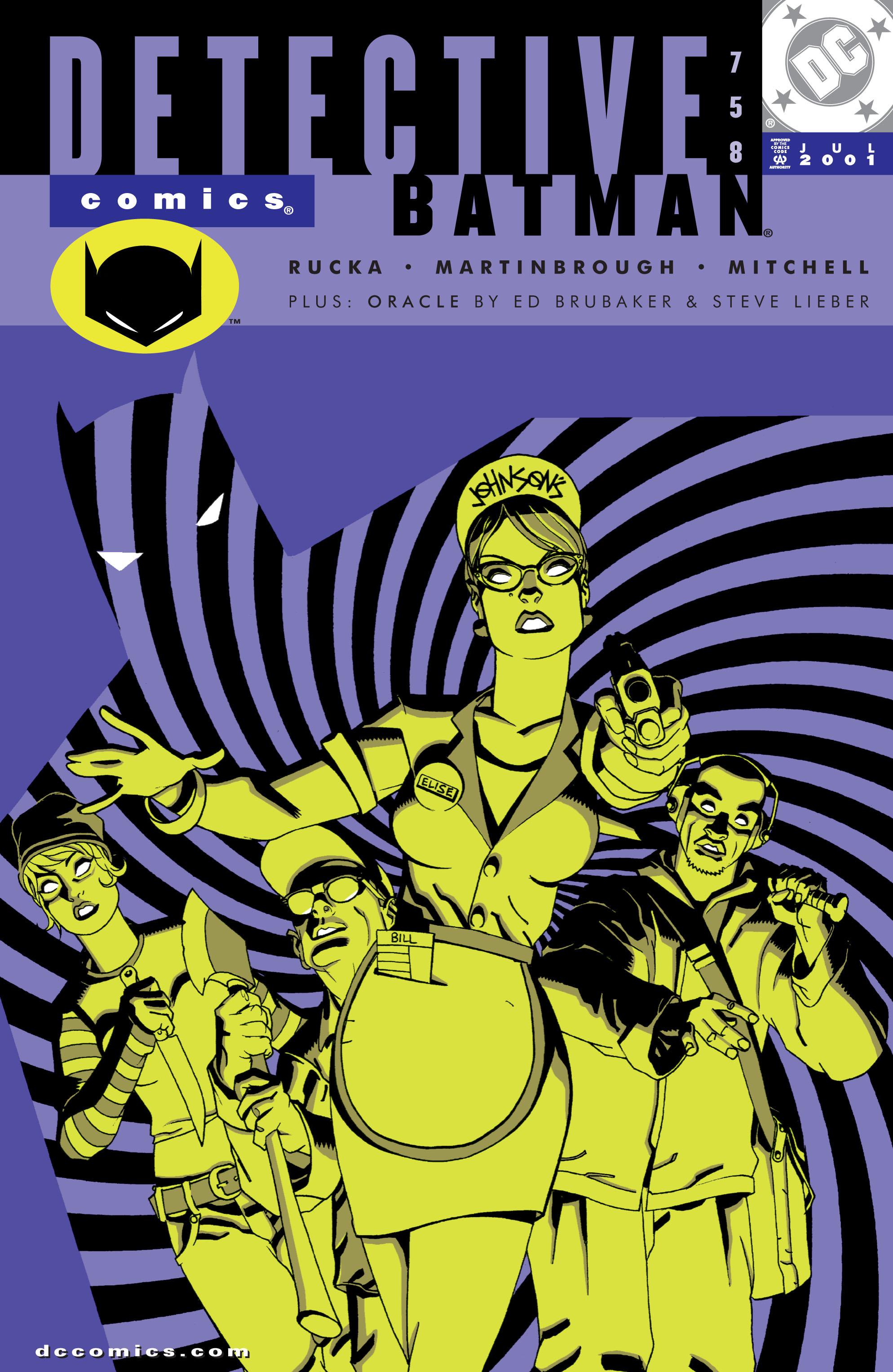 Detective Comics (1937) 758 Page 0