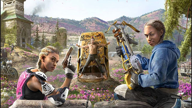 تسريب الإسم النهائي للجزء المقبل من سلسلة Far Cry و الغلاف الرسمي من هنا ..