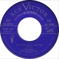 Twelve Days of Christmas record (Como)