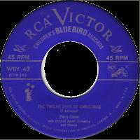 Twelve Days of Christmas record (Como)