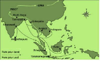Sejarah Masuknya Kerajaan Hindu Budha di Indonesia - pustakapengetahuan.com
