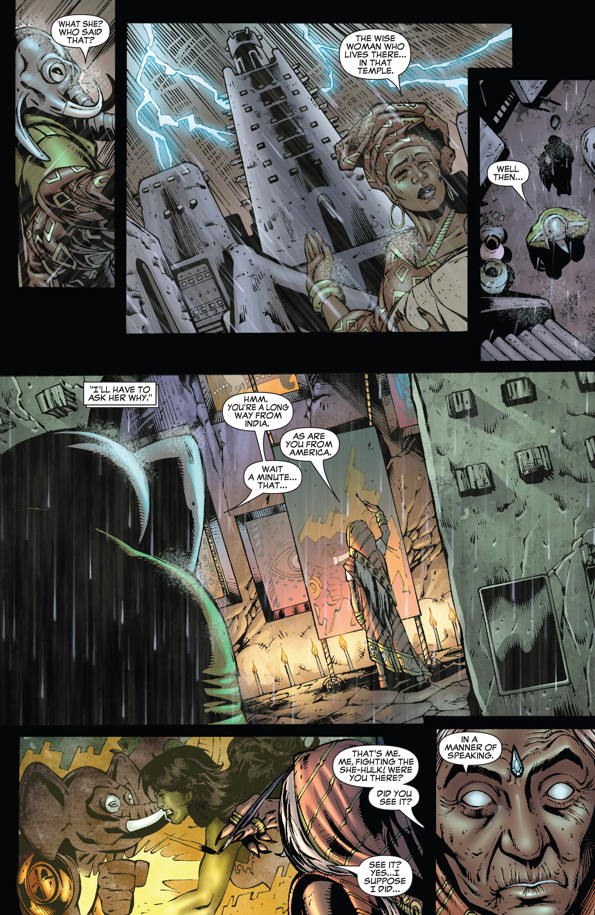 Read online She-Hulk (2005) comic -  Issue #25 - 27