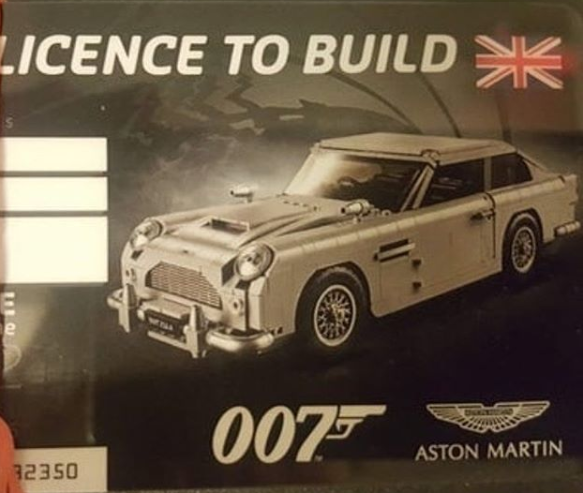 Anj S Brick Blog Lego Creator James Bond Aston Martin