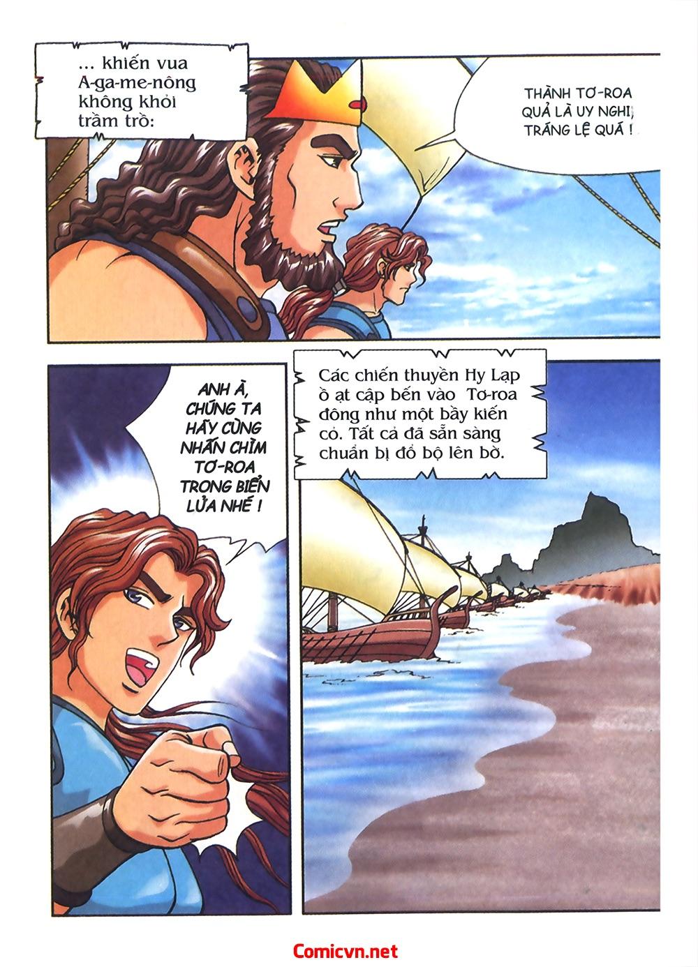 Thần Thoại Hy Lạp Màu - Chapter 54: Tiến về thành Troy - Pic 22