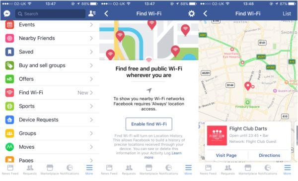 How To Find Nearest Free Internet Hotspot Wi-Fi  With Facebook Locator