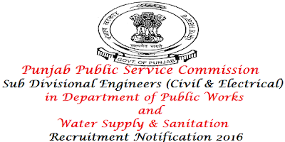 PPSC Engineer (Civil & Electrical) Recruitment 2016