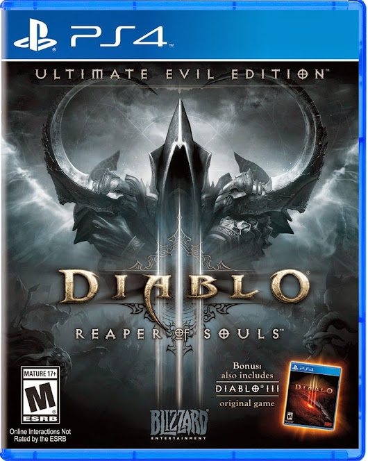 DIABLO III: REAPER OF SOULS - ULTIMATE EVIL EDITION IN STORES NOW